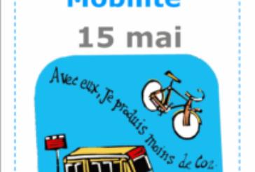 Journée Mobilité Durable le 15 mai, tous concernés !