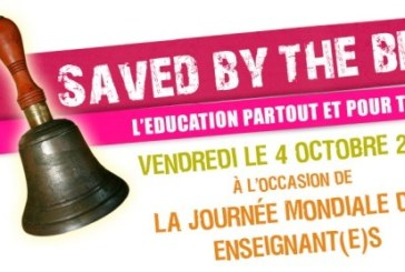 "Ce vendredi 4 octobre, Action ""Saved by the bell"""