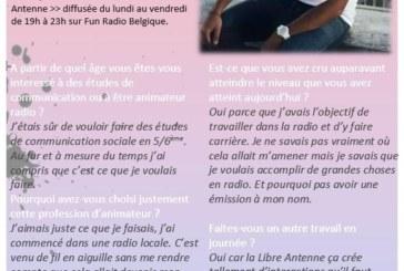 Vinz Kanté et Lara Bellerose interviewés par des 4es