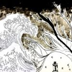 À la manière d'Hokusai…