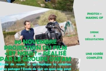 Projection du film «Et nous ?» réalisé par le groupe Oxfam