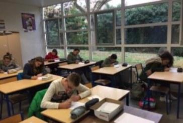 Premier concours d'orthographe au Collège