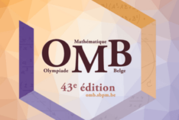 L'inscription pour l'Olympiade mathématique belge, c'est maintenant !