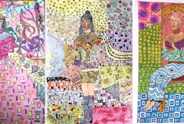 Des 2C créent à la manière de Klimt