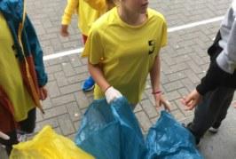 L'éco-team VS les déchets au collège